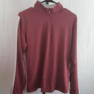 Adidas Climawarm  long sleeve active half zip top